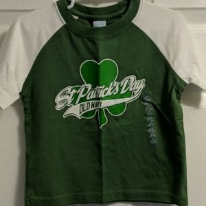 Old Navy 2T St. Patrick's Day t-shirt